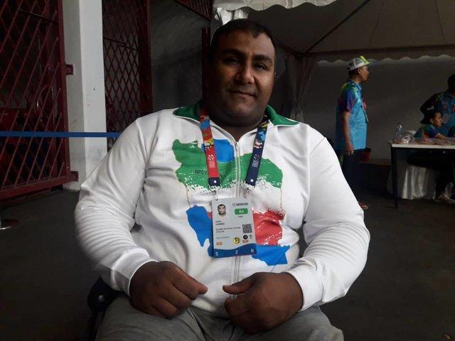 برنده سه مدال پاراآسیایی: در جاکارتا بخاطر سبزی خواری نتوانستم رکورد دنیا را بزنم!