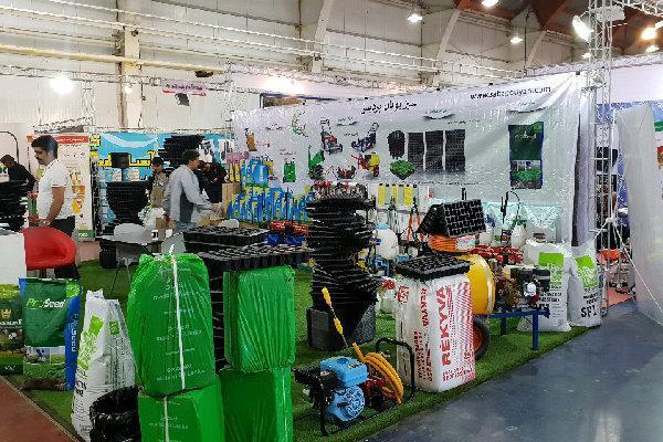 نهمین نمایشگاه کشاورزی و ماشین آلات ونهاده ها در قزوین گشایش یافت