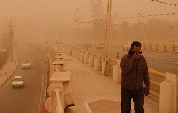 تداوم غبارآلودگی هوا تا اواخر امروز