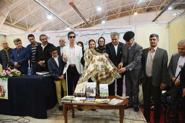 رونمایی از کتاب های نویسندگان عشایر فارس