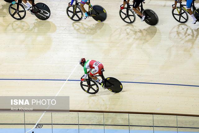 ادامه ناکامی دوچرخه سواری ایران در قهرمانی آسیا، در دور امتیازی هم مدال نگرفتیم