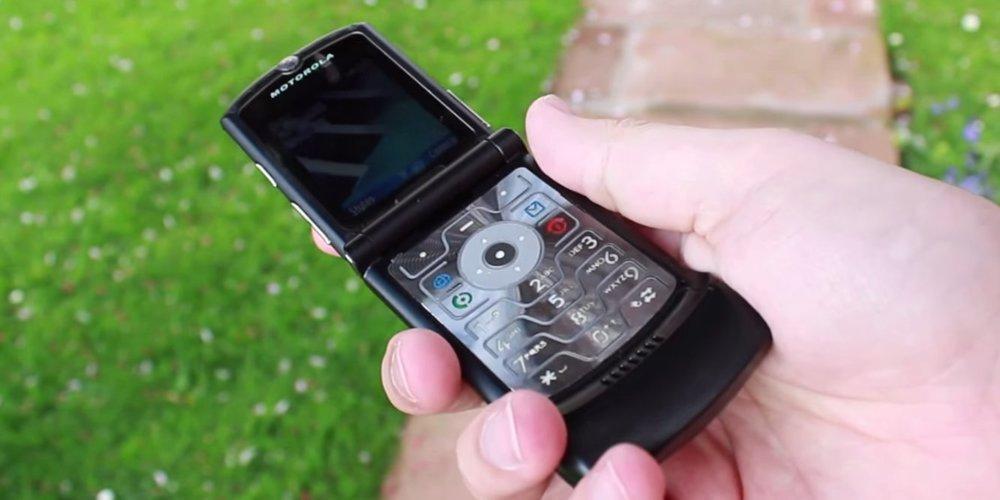 گوشی موتورولا ریزر مجهز به نمایشگر تاشو به قیمت 1500 دلار