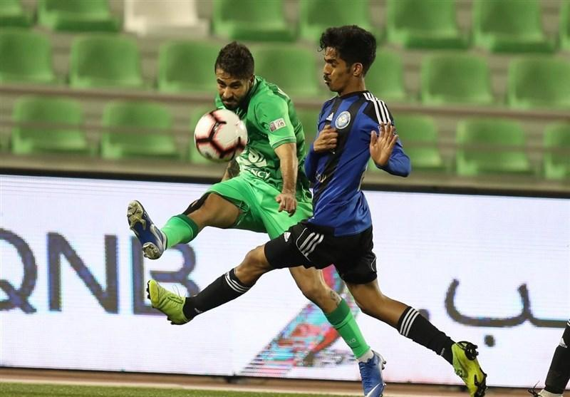 لیگ ستارگان قطر، شکست خانگی الاهلی با بازی 90 دقیقه ای امید ابراهیمی