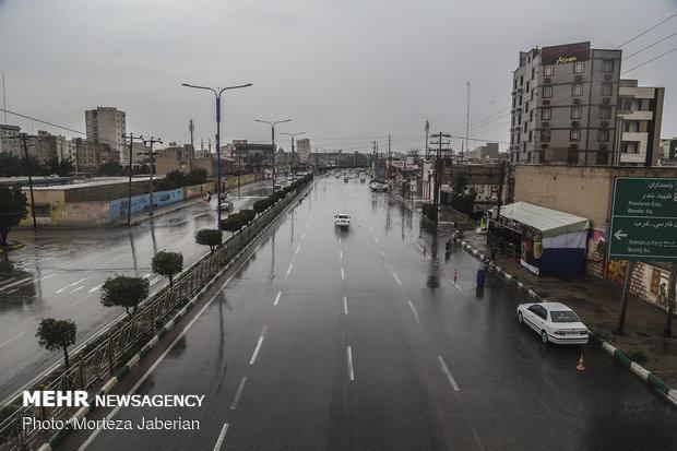 بارش های پراکنده در راه خوزستان