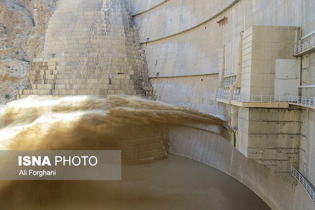 آغاز تخلیه رسوب و مدیریت حجم مخزن سد الغدیر ساوه