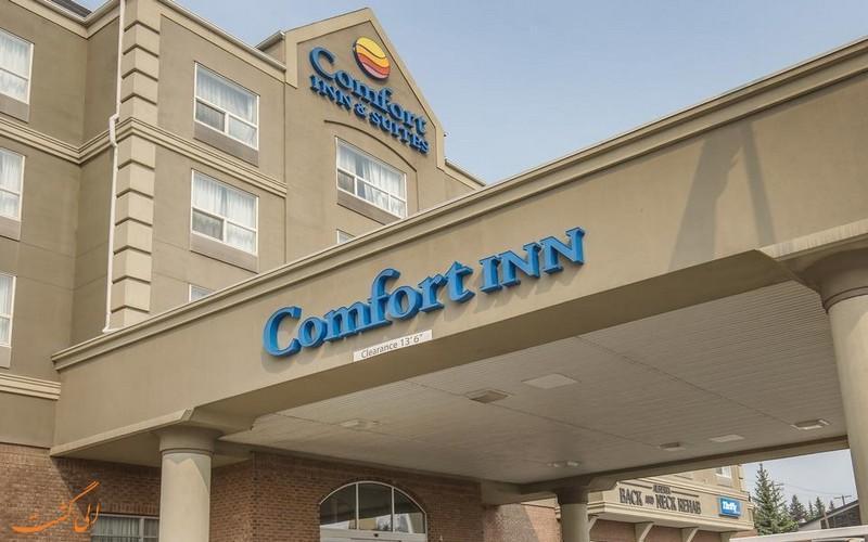 معرفی هتل 4 ستاره کانفورت سوت کلگری کانادا