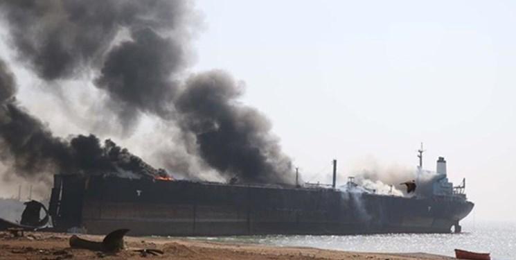 حمله به دو نفت کش در دریای عمان