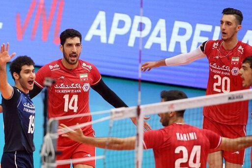 لیگ ملت های والیبال ، باز هم پیروزی ایران؛ این بار در برابر بلغارستان