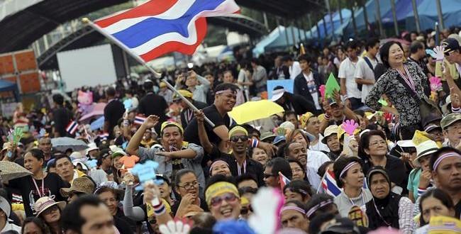 تظاهرات علیه دولت تایلند