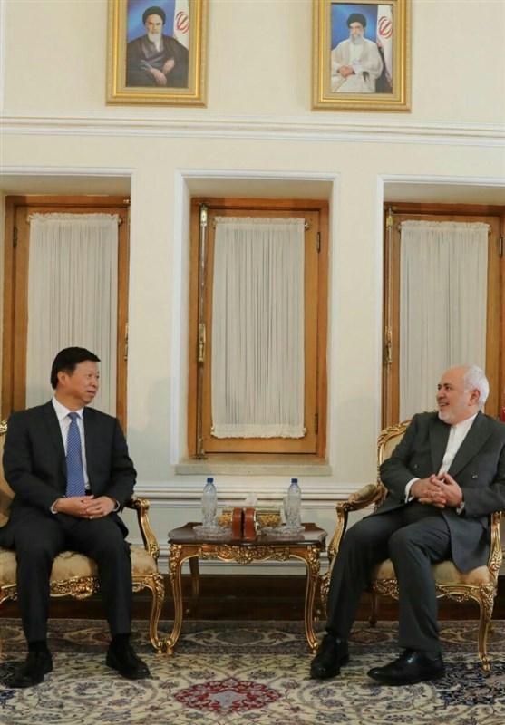 دیدار مقام ارشد حزب حاکم چین با ظریف
