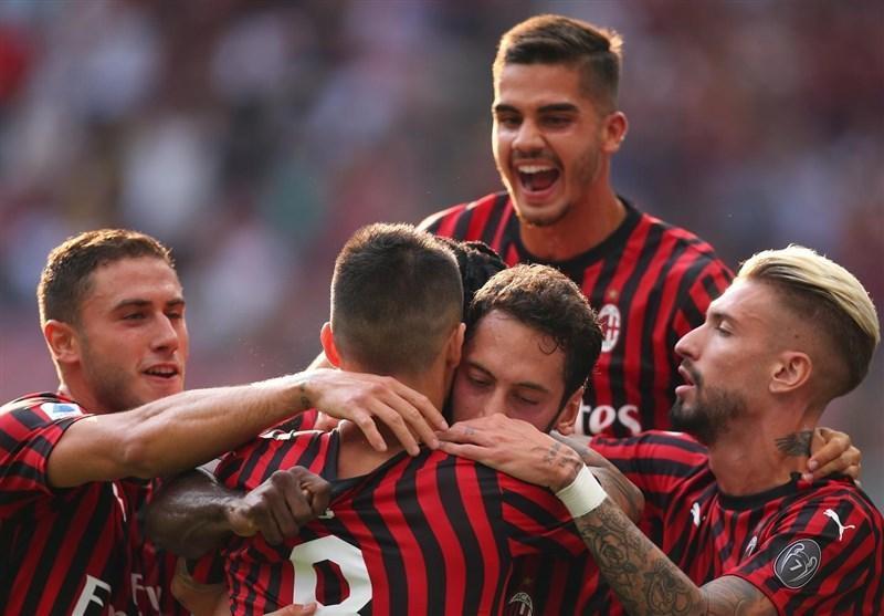 میلان اولین پیروزی فصلش را به دست آورد