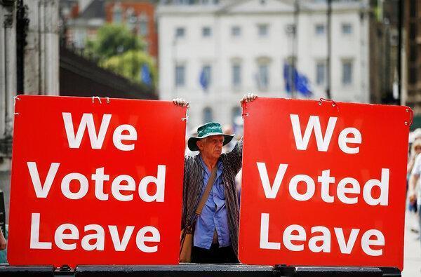 54 درصد انگلیسی ها موافق برگزیت هستند