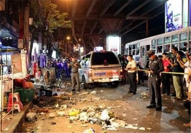 7 زخمی درپی انفجار بمب در بانکوک