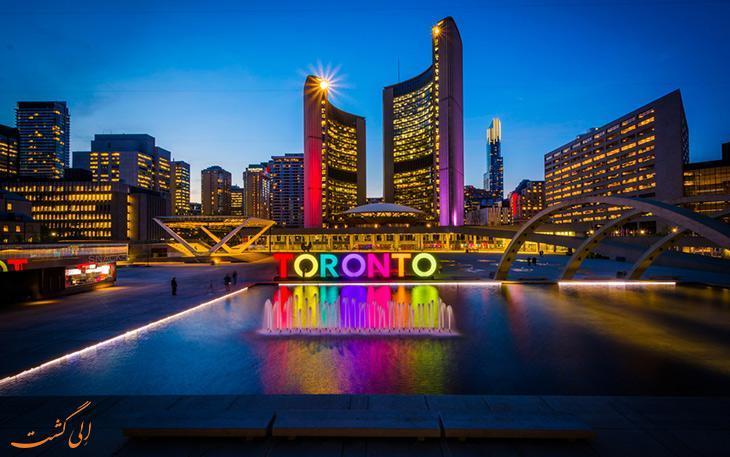 چطور از فرودگاه پیرسون تورنتو به مرکز شهر برویم؟