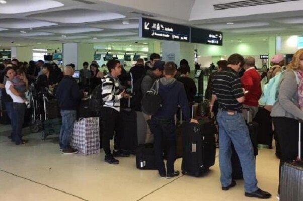 نقص رایانه ای موجب اختلال در ورود مسافران به آمریکا شد