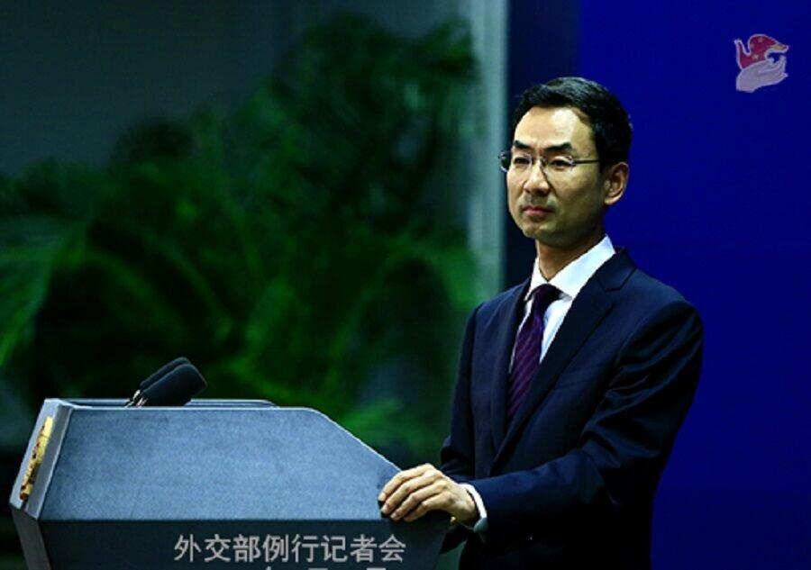 کنفرانس خبری سخنگوی وزارت خارجه چین درباره سفر ظریف به پکن