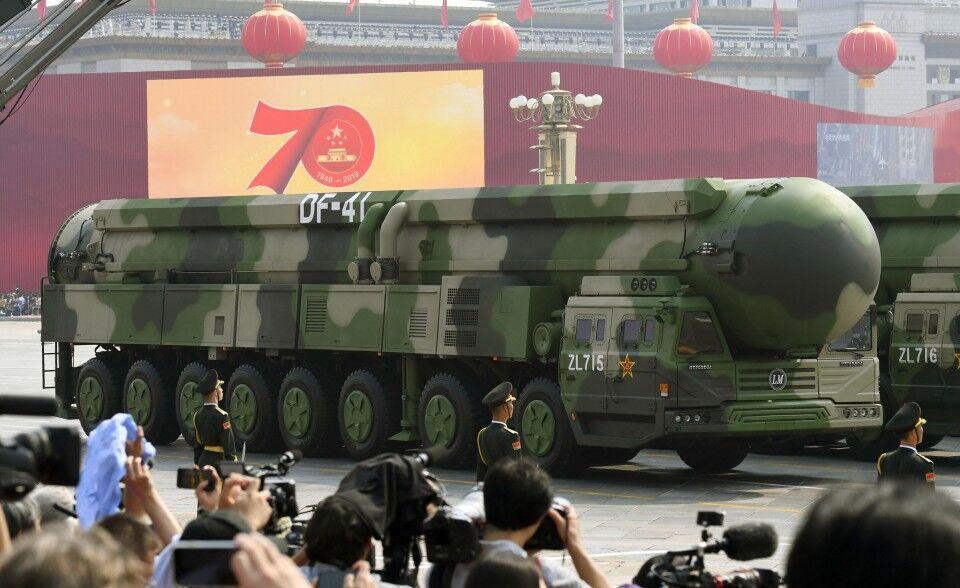 رونمایی چین از موشک هسته ای جدیدش