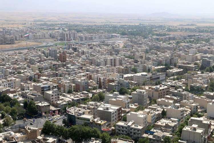 شمال قزوین روی گسل