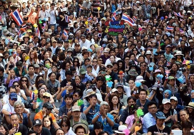 مذاکرات پلیس و معترضان در تایلند بازنده شد