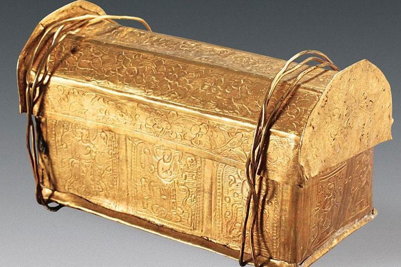 کشف اسکلت بودا در چین