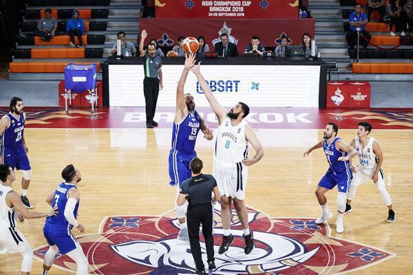 تیم بسکتبال نفت آبادان به عنوان سوم دست یافت
