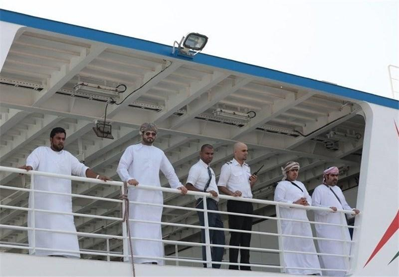 سفر نخستین مسافران ایرانی خط دریایی قشم ـ خصب به عمان