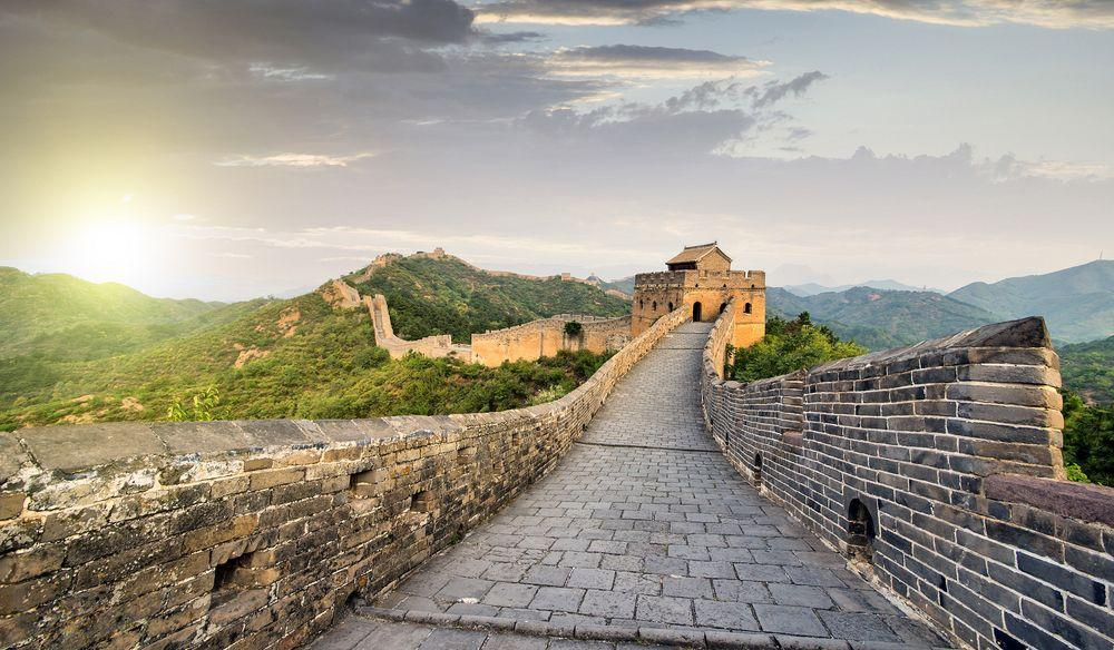 دیوار بزرگ چین Great Wall of China