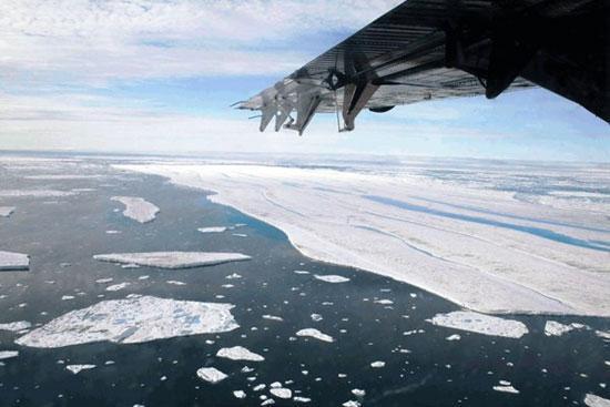 سر و صداهای مرموز در قطب شمال
