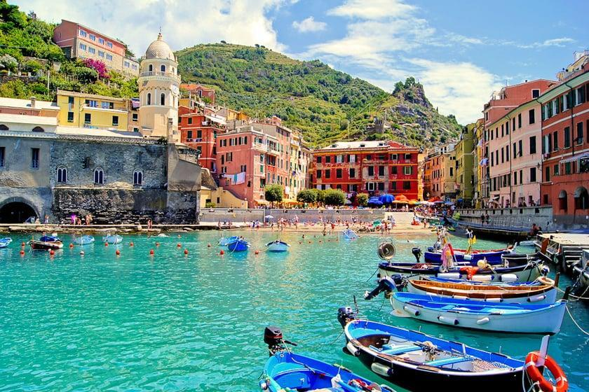 سینک تر: لیگوریا ایتالیا