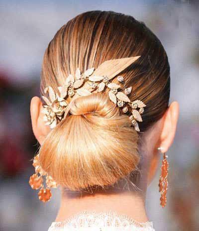 مدل های شینیون مو، مخصوص عروس خانم ها