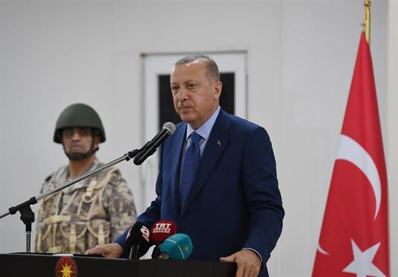 اردوغان: امنیت ترکیه و قطر را از هم جدا نمی دانیم