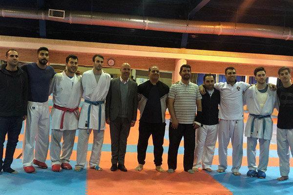 ملی پوشان کاراته ایران وارد مادرید شدند