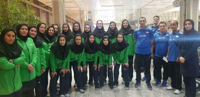 دختران والیبالیست ایران راهی مسابقات قهرمانی آسیا شدند