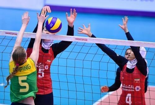 دختران والیبالیست ایران در جایگاه هشتم آسیا قرار گرفتند
