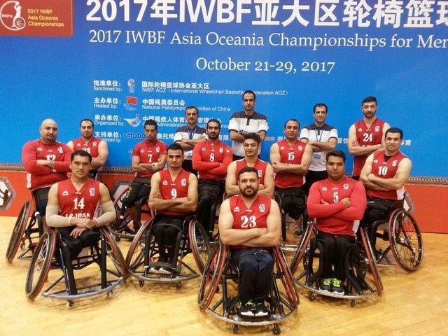 تیم بسکتبال با ویلچر مردان ایران نایب قهرمان آسیا شد