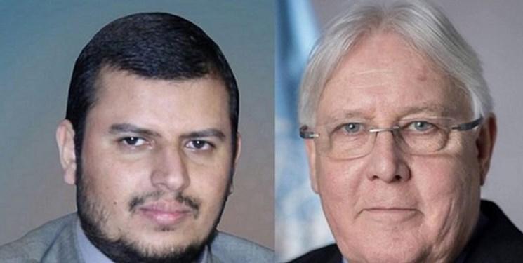 ملاقات و گفت وگوی رهبر انصارالله و نماینده سازمان ملل در امور یمن
