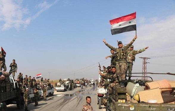 نیرب در شرق ادلب هم آزاد شد