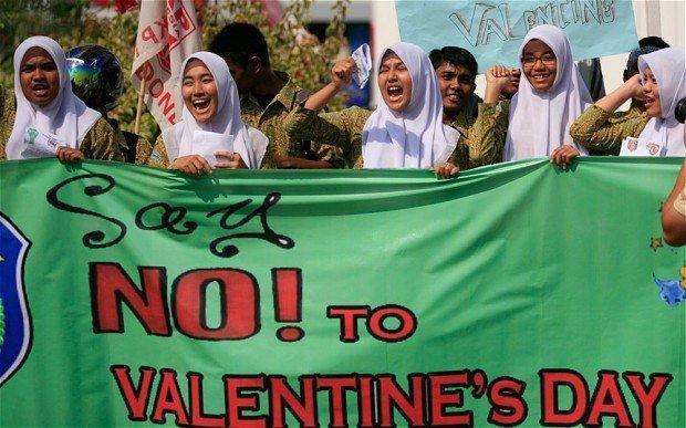جشن ولنتاین در کدام کشورها ممنوع است؟