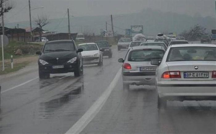 آخرین شرایط ترافیکی جاده های کشور، یکشنبه سوم فروردین
