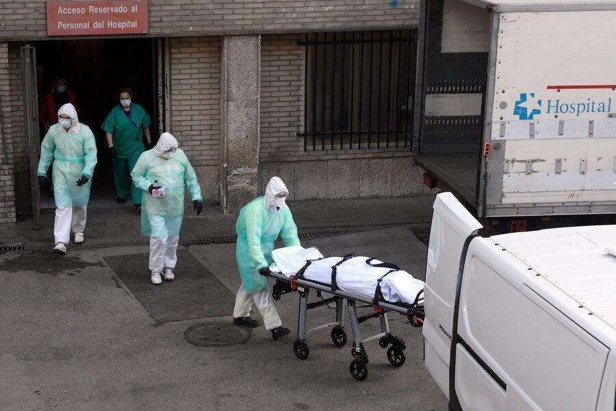 مرگبارترین روزهای شیوع کرونا در اسپانیا و ایتالیا ، روزهای بدتر در راهند