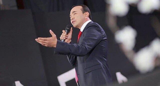 وزیر فرهنگ ازبکستان درباره کرونا ترانه خواند