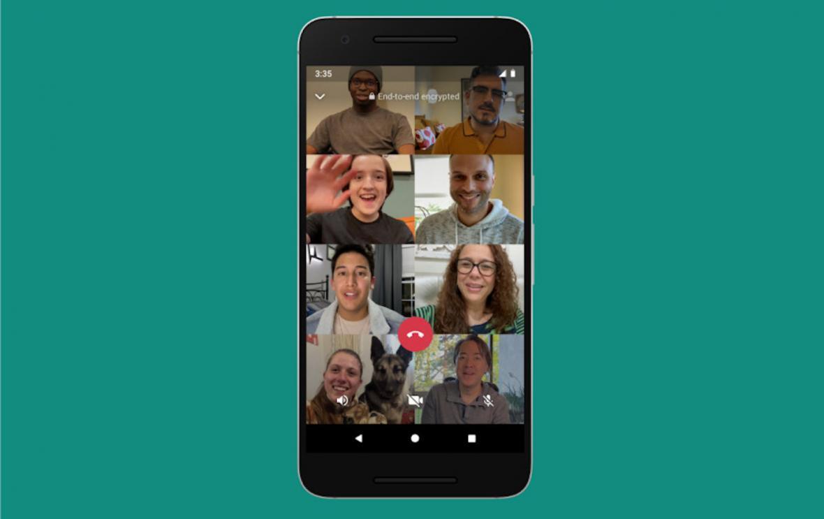 بروزرسانی جدید واتس اپ منتشر شد؛ امکان حضور همزمان 8 کاربر در تماس های گروهی