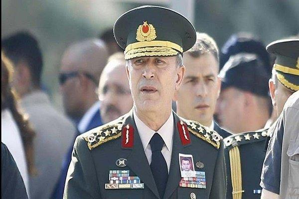 وزیردفاع ترکیه ودبیرکل ناتو درباره تحولات لیبی وسوریه مصاحبه کردند