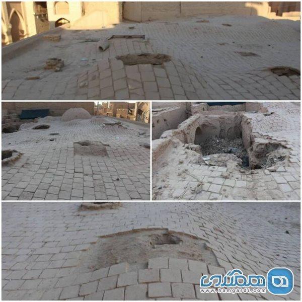 اعلام بازسازی پشت بام حمام تاریخی سعیدا