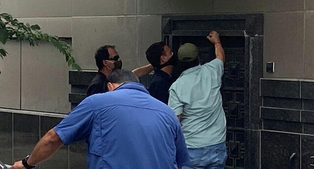 تصرف کنسولگری چین در شهر هوستون آمریکا