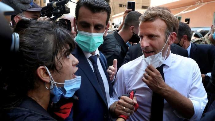 مکرون: خودم مسئولیت اصلاحات سیاسی در لبنان را بر عهده می گیرم