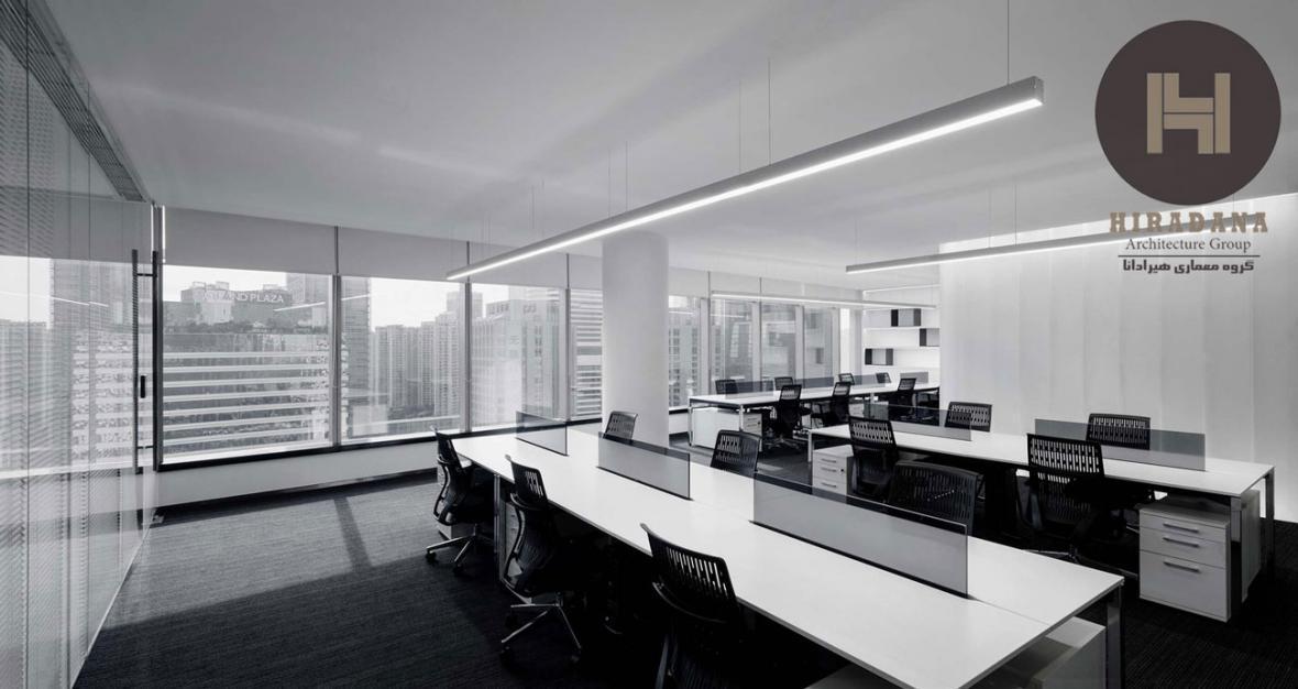طراحی داخلی دفتر جیتی لند در گوانجو چین