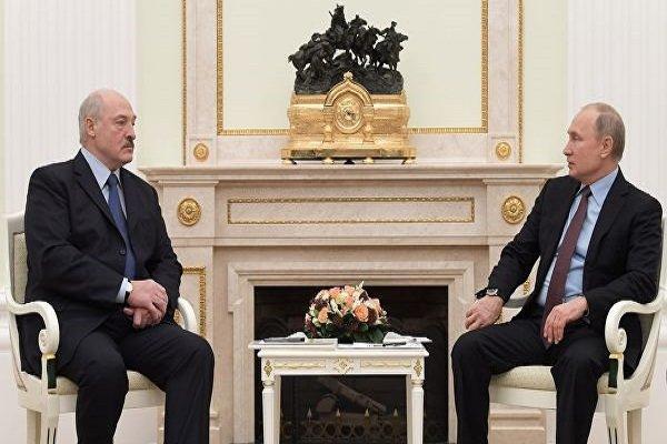 توافق پوتین و لوکاشنکو برای ملاقات در مسکو