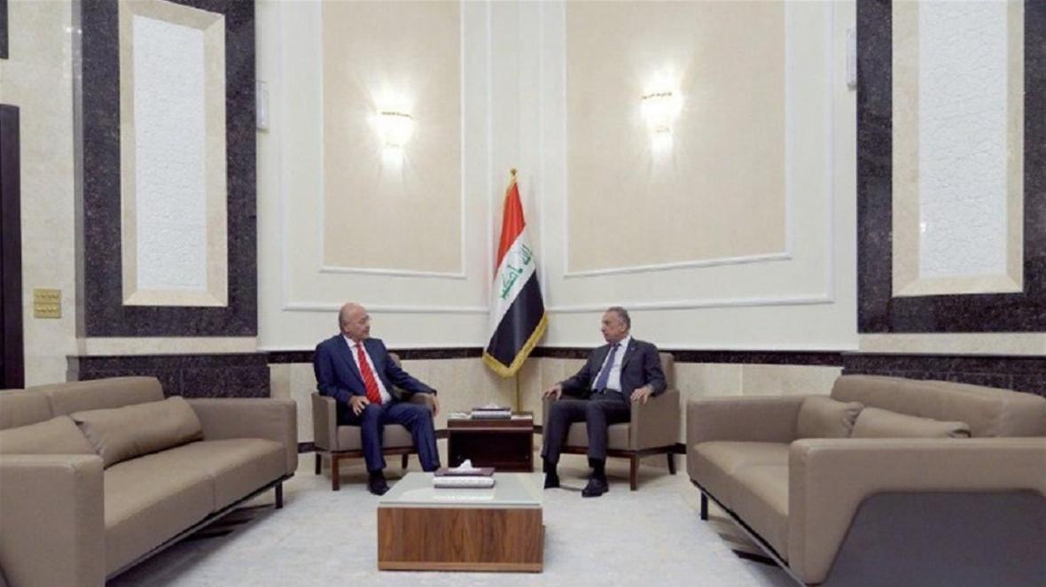 گفتگوی رئیس جمهور و نخست وزیر عراق درباره برگزاری انتخابات زودهنگام