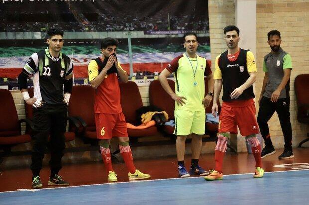 یک تغییر در لیست تیم ملی فوتسال قبل از بازی با ازبکستان